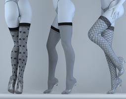 stockings 3D