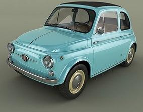 3D model Fiat Nuova 500
