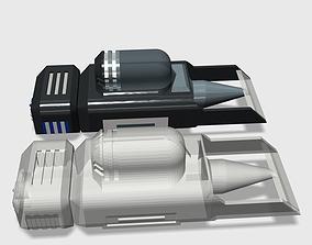 3D printable model Futuristic Car