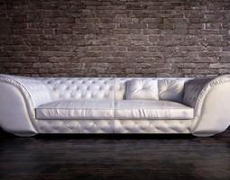 corte zari sofa 3D Model