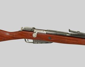 3D model Mosin Nagant Rifle