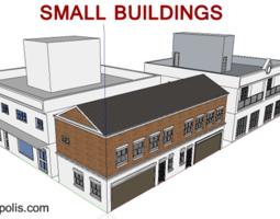 3D model Dynamic Buildings 01