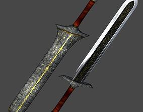 3D model Long sword1