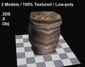 3D model Food bags collection