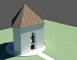 Trinity chapel 3D Model
