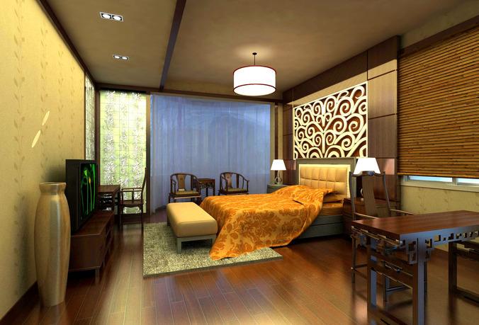 Master Bed Room3D model