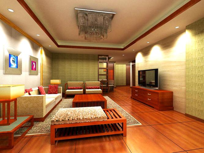 Gorgeous Living Room3D model