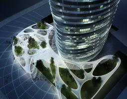 3d building 122