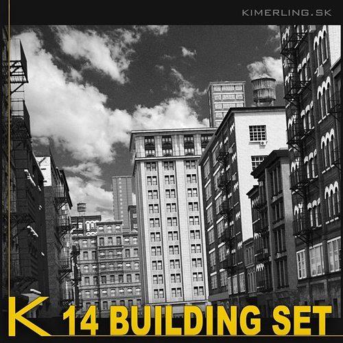 building set  a 3d model max obj 3ds fbx mtl pdf 1