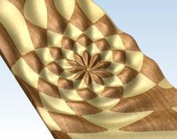 3D relief panel for Artcam Voratinkliai IMG 4389 STL 3D Model