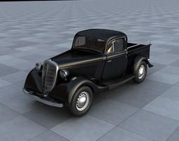3D model GAZ M415 Pickup