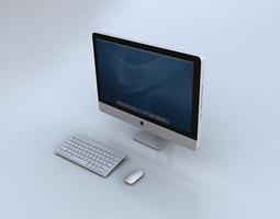 3D Imac computer