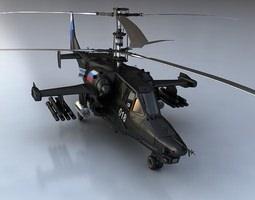 ka-50 black shark  3d model max