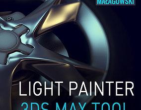 3D model Light Painter script
