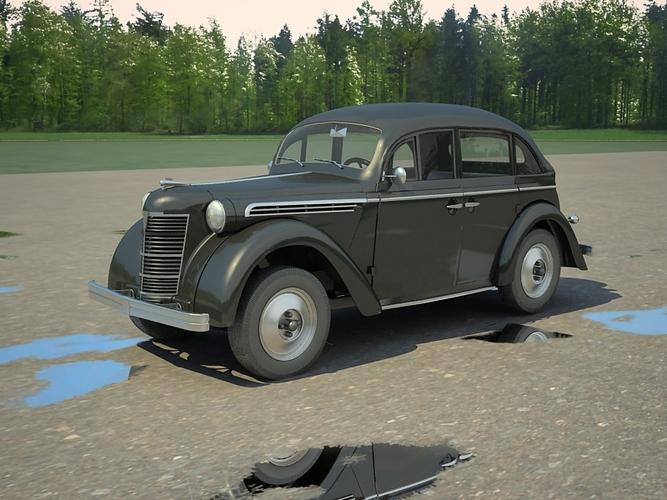 Opel Kadett K38 3D Model Max