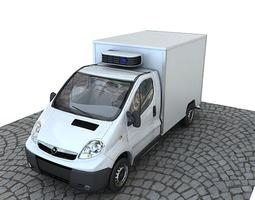 3D Opel Vivaro box