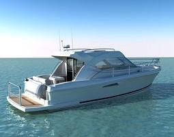 riviera 3600 sport yacht 3d model