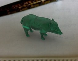 3d print model wildboar