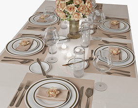 3D table setting 01