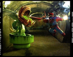 Berracus vs Carnivore Plant 3D