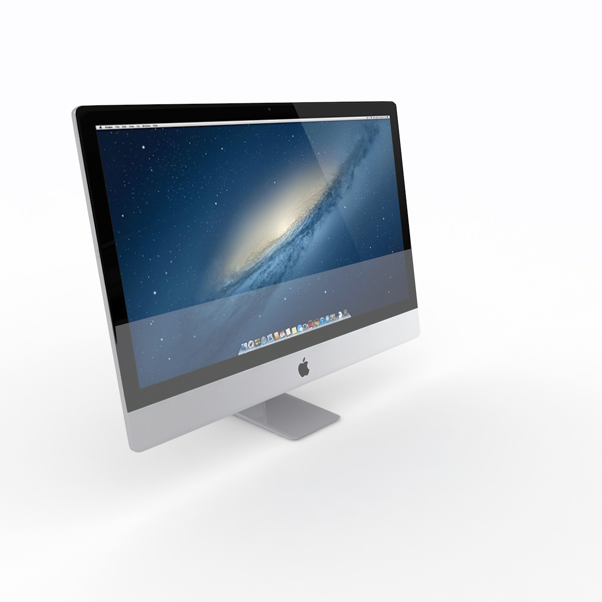 The New iMac 2014 3D Model .max .obj .3ds .fbx .c4d .ma ...