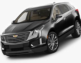 Cadillac XT5 2017 3D