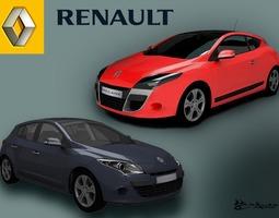 Renault Megane III 2009 Pack1 3D Model