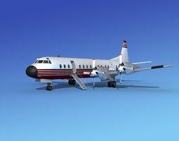3D model Lockheed L-188 Electra HP Corporate 4