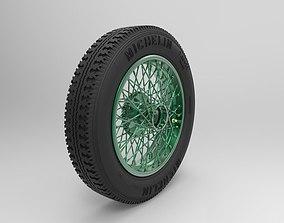 Wheel Bentley 4 5 Litre Blower 3D