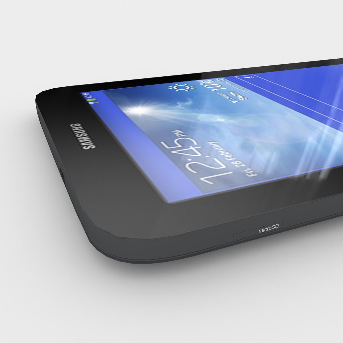 Samsung Galaxy Tab 3 Lite 7 0 Black 3d Model Max 3ds Fbx Lwo Lw Lws
