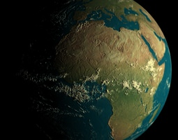 Earth High Quality 3D Model 3D Model 3D Model