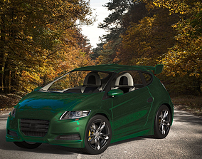 CRI or Cry Concept Car 3D asset