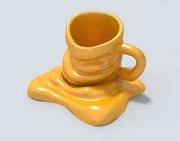 3D Mug (new model) Ready to be 3D printed. 3D Model