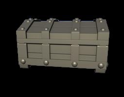 3D Treasure Box