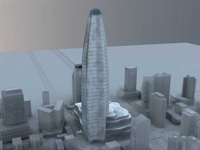 skyscraper3D model