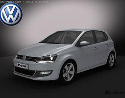 Volkswagen Polo 5doors 2010 3D