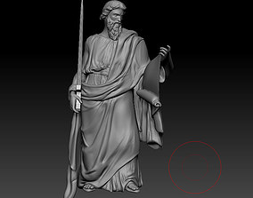 3D printable model historic Statue Pavel