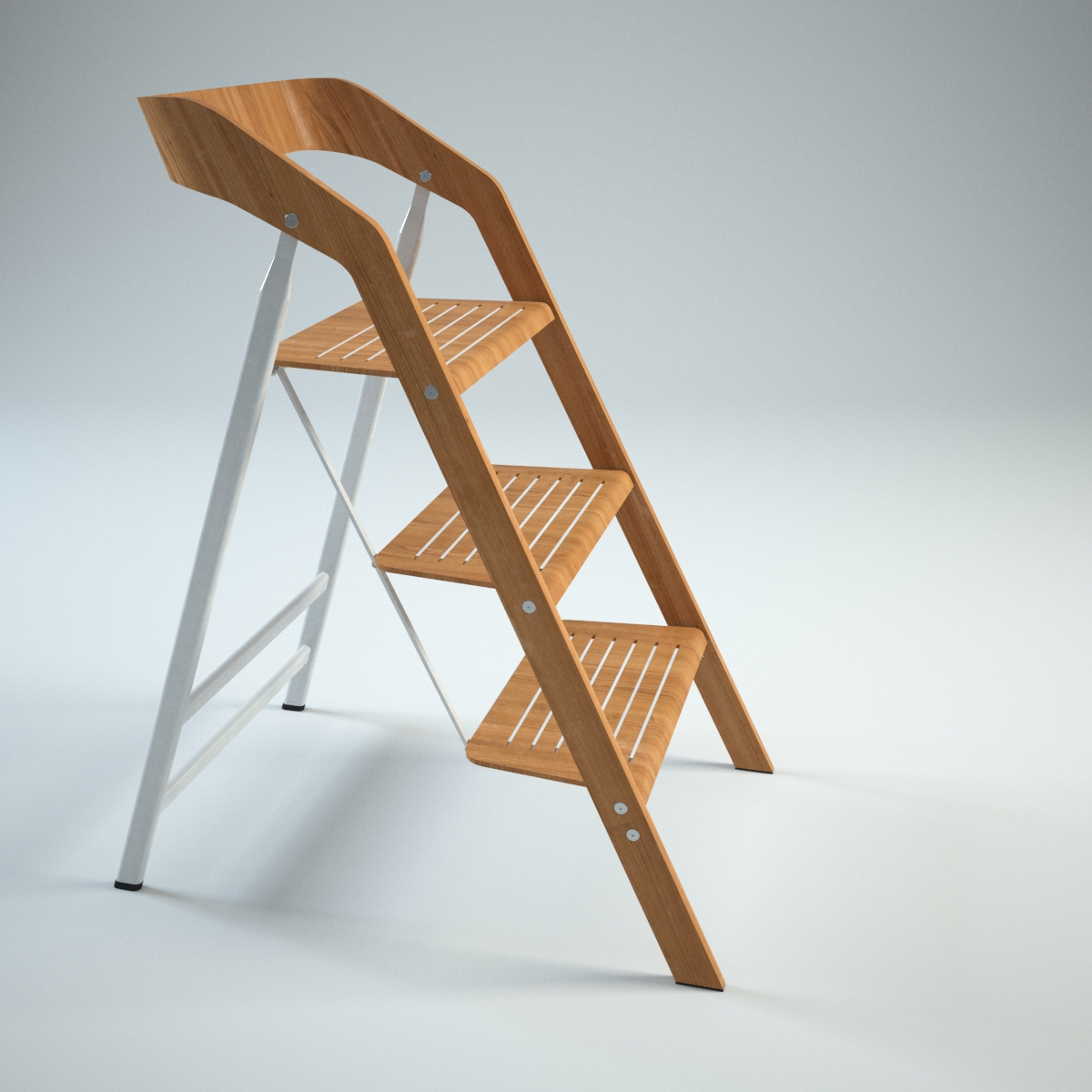 Vintage Usit Stepladder Chair 3 Step Version Model Max 7