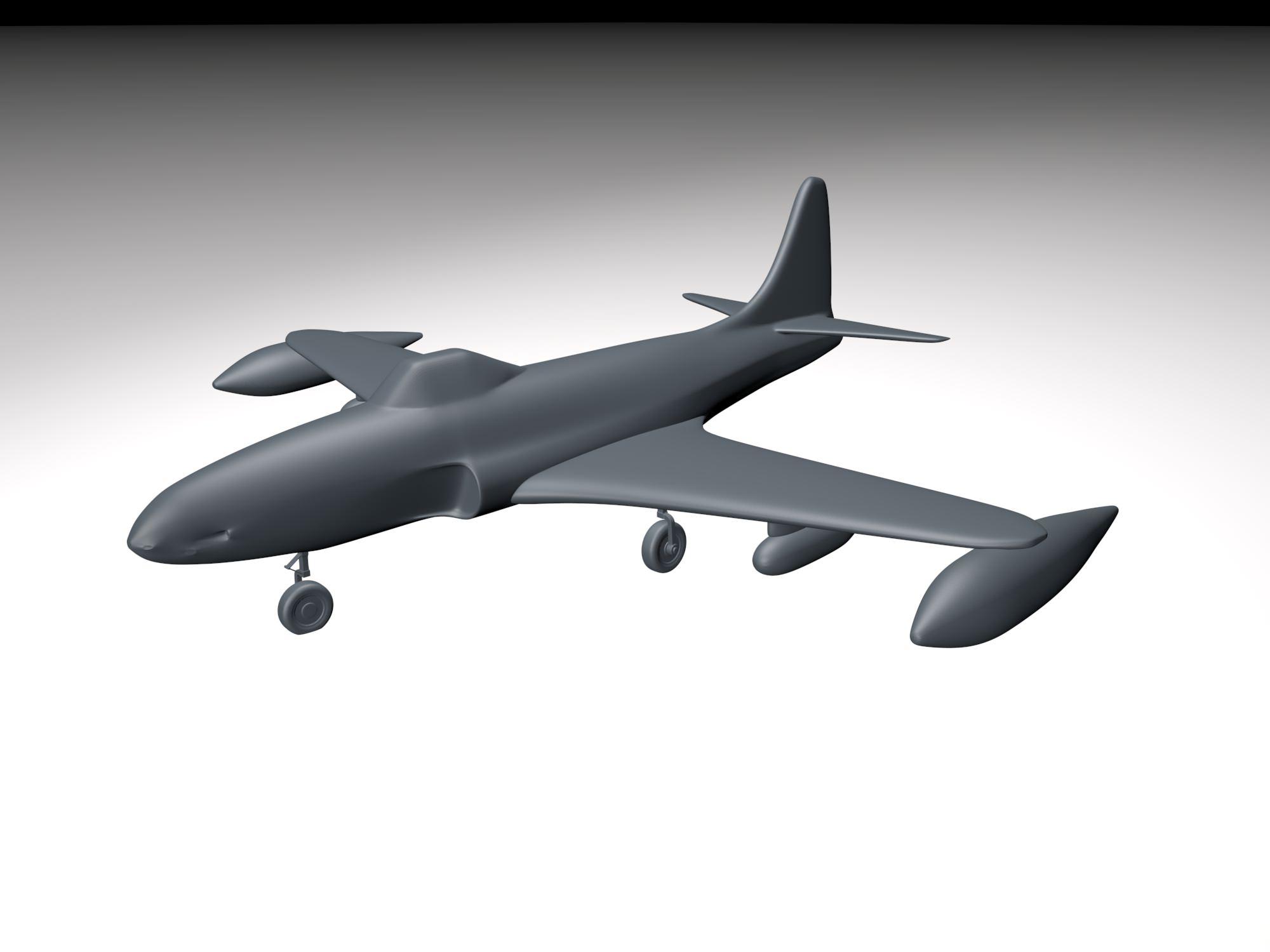 Airplane 3d Model Stl