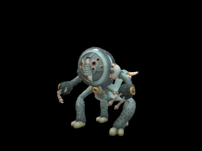 Fight Robot3D model