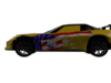 Cars 2 : Jeff corvette 3D Model