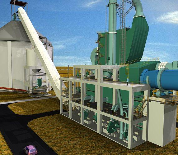 Cement Plant Parts : Cooler electrostatic precipitator cement plant free d