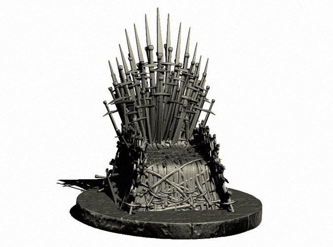 Game Of Thrones Throne 3D Models