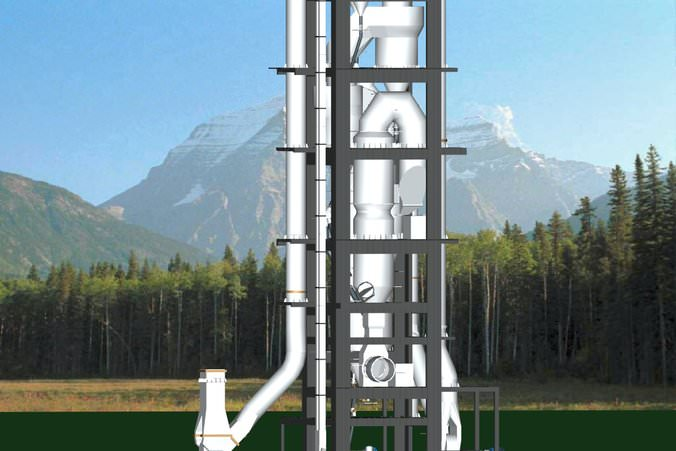 Cement Plant Preheater Cyclone Images : Surma cement plant cyclone preheater free d model ds