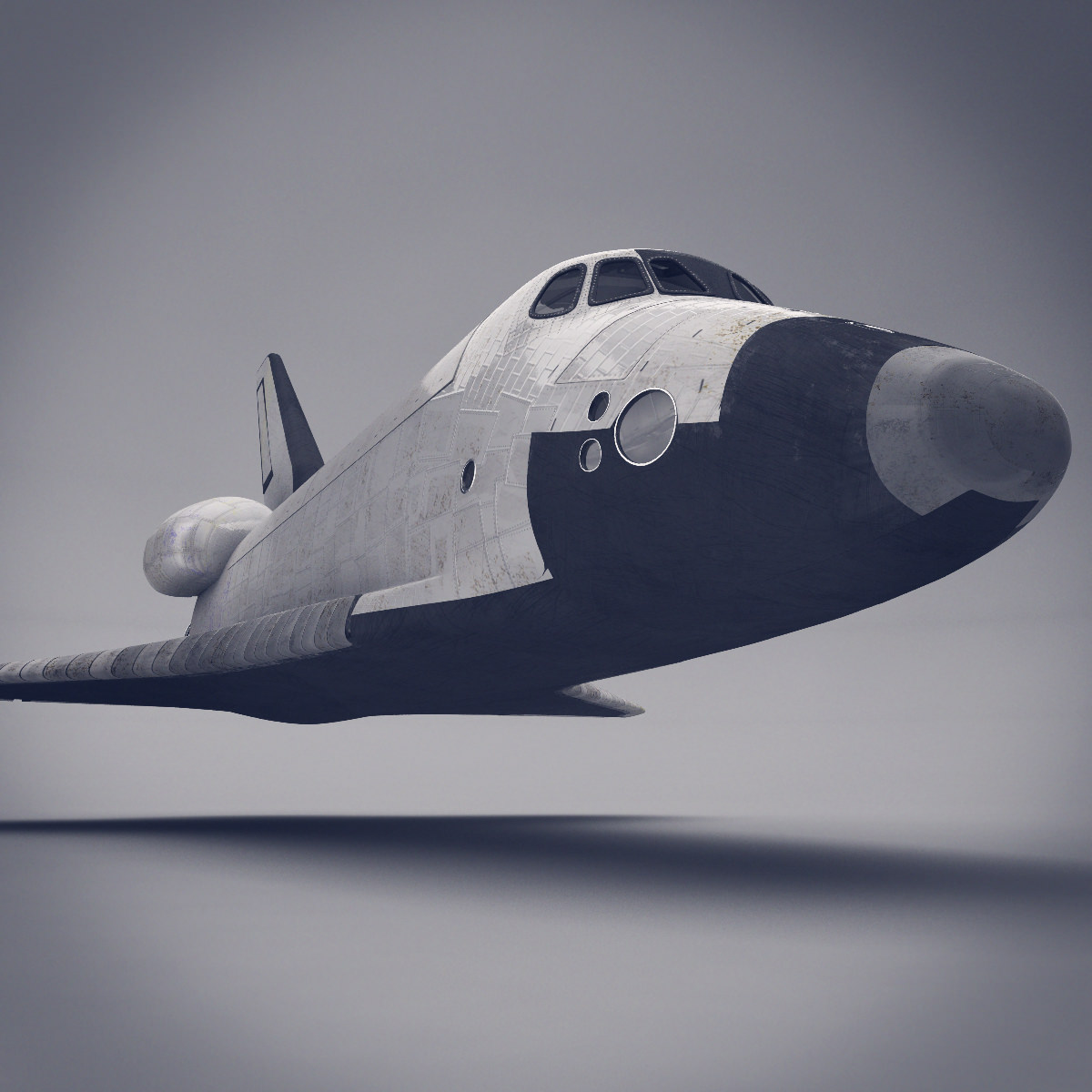 make a space shuttle model-#46
