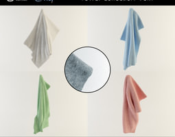 Towel Collection Vol 1 3D model