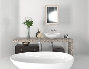 3D Bathroom furniture 16 am168