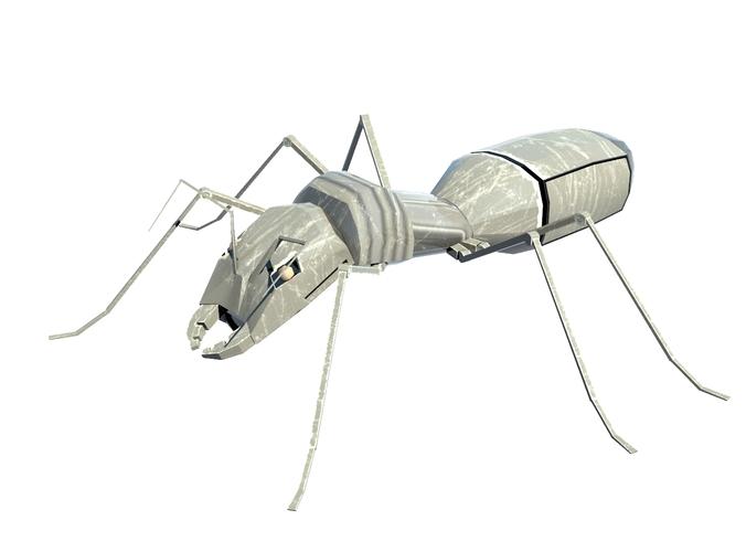 Ant robot3D model