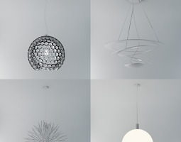 3D model Lamp Collection Vol 1