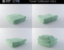 Towel Collection Vol 2 3D model